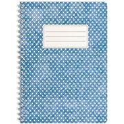 WIREBOOKS Notizbuch | Notizblock | Notizheft | Spiralblock 5037 DIN A5 120 Seiten 100g Papier liniert