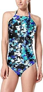 Speedo Women's Floral Print One-Piece Swimsuit