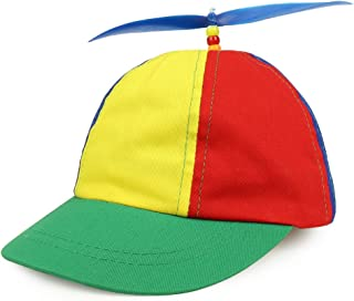 Armycrew Cotton Child's Multi-Color Propeller Helicopter Unstructured Baseball Cap