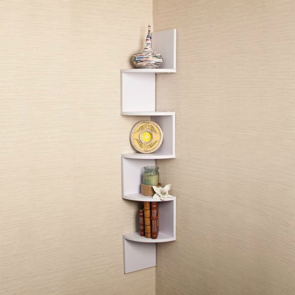 Pop Creative Design White Large Shelf Courier shipping free Hanging Corner Inexpensive Mount Wall