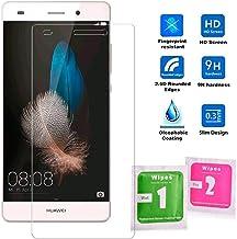OcioDual Protector de Pantalla en Cristal Templado Premium para Huawei P8 Lite - Dureza 9H - Alta Definicion - 0,33mm