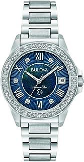 Bulova - Reloj Analógico para Hombre de Cuarzo con Correa en Acero Inoxidable 96R215