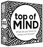A body part. A pizza topping. A TV show. A day of the week. Something besides a door that you can open with a key. A farm animal. What will the other players answer? The more people who answer the same as you, the more points you rack up! Contains 11...
