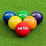 METIS Schaumstoffball 6in für Völkerball – Größe 1 [Packung mit 6] | Bälle Set für Schule &...