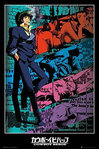 Close Up Cowboy Bebop Poster Spike (61cm x 91,5cm) + Ü-Poster