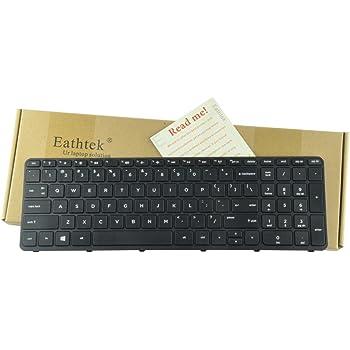 Keyboards4Laptops UK Layout Black Frame Black Windows 8 Laptop Keyboard for HP Pavilion 15-n087sr HP Pavilion 15-n088sr HP Pavilion 15-N088CA HP Pavilion 15-N088NR HP Pavilion 15-N089NR