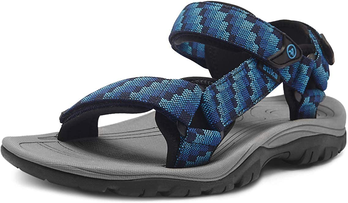 atika Albuquerque Mall Ranking TOP8 Men's Outdoor Hiking Sandals Support Open Arch Toe Strap
