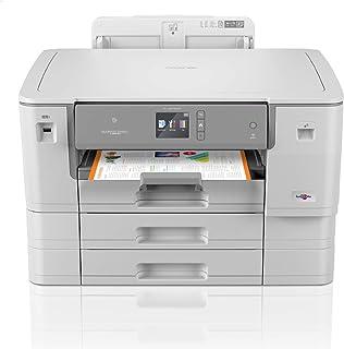 Brother HL-J6000DW - Impresora de inyección de Tinta A3 con impresión automática a Doble Cara (WiFi, NFC, conexión móvil y Cloud) Color Gris