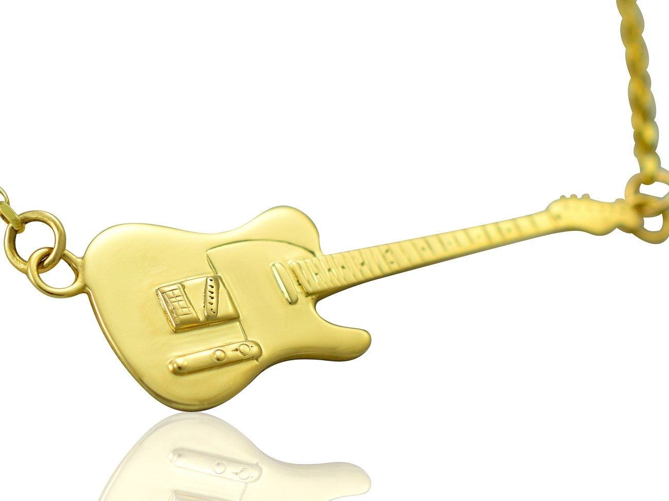 Colgante y collar de guitarra eléctrica Rick Parfitt Tribute ...