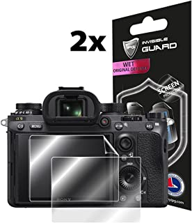 for Sony A9-A7II-A7III-A7SII-A7RII-A7RIII (2X) Screen Protector Lifetime Replacement Warranty Invisible Protective Screen ...