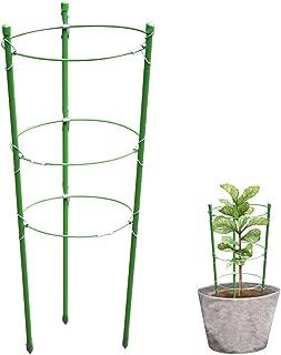 Garich Plant Support Garden Support Rings Trellis Supporter 17.7