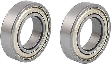 6904Z 20 x 37 x 9mm Metal Shielded Deep Groove Radial Ball Bearing 2pcs