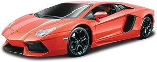 Bburago 18-11033MTOR Burago 1/18 Scale Diecast - 18-11033 Lamborghini Aventador LP 700-4 Orange, Multicolor