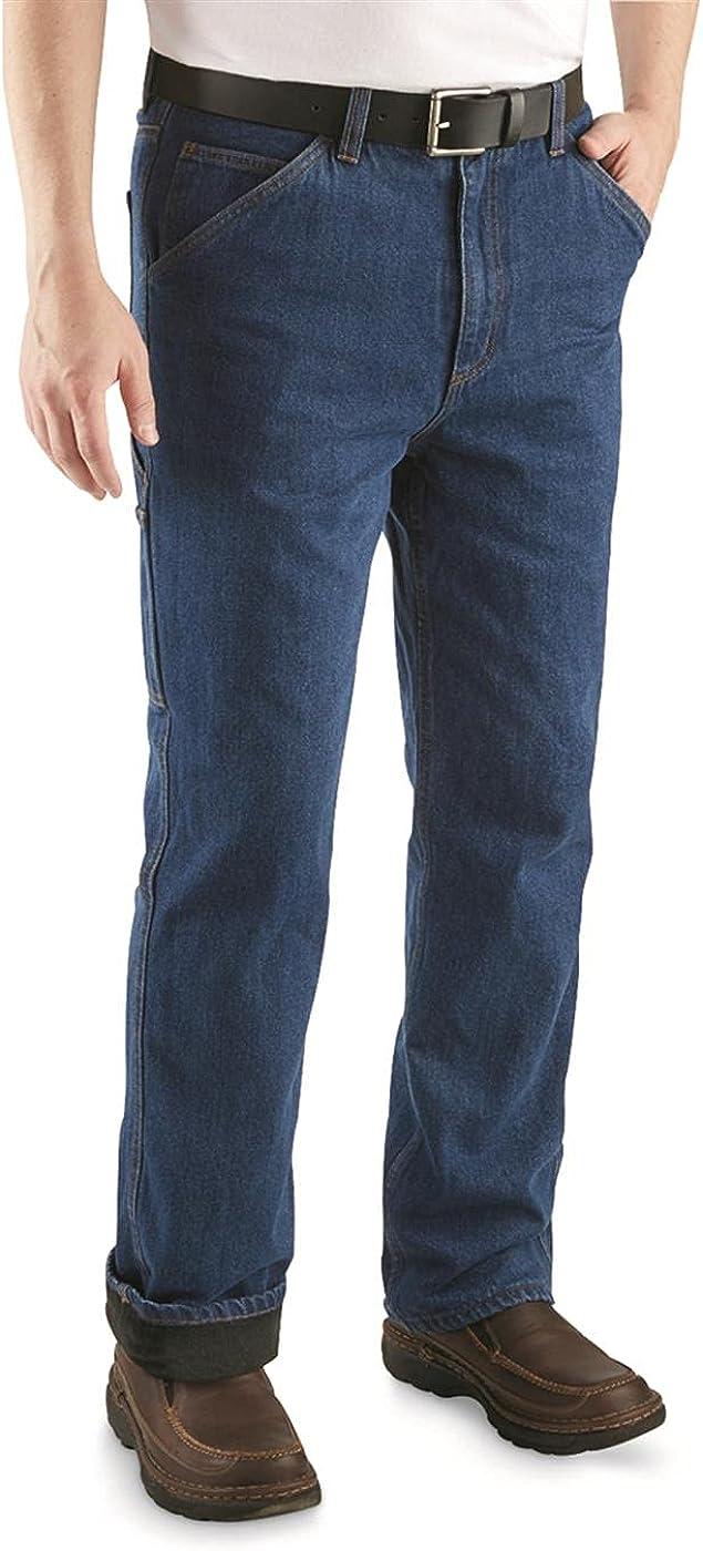 5% OFF Guide Gear Men's Sportsman's Carpenter Regular dealer Jeans Fleece-Lined