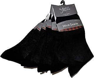 YSABEL MORA, PACK 6 Pares - Calcetines de Hilo de Escocia para caballero