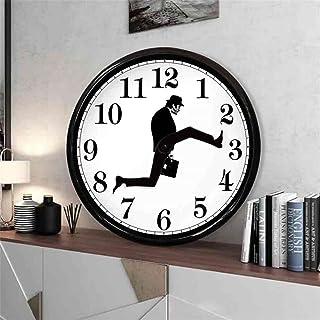 Silly Walk Wall Clock, Clock Mute Walk,Creative Wall Clock Artwork, Wall Clock British Comedy Inspired, Walk Silent Silent...