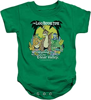 The Land Before Time Animated Dinosaur Movie Great Valley Infant Romper Snapsuit