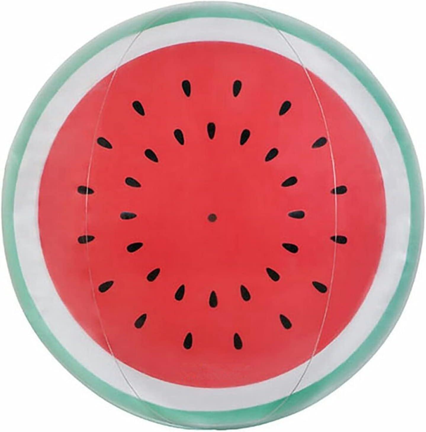 Eurobuy 3D Watermelon cheap Beach Ball Same day shipping Activity Summer Outdoor B