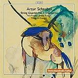 SCHNABEL: String Quartet No 1, Notturno / Pellegrini-Quartett, Noa Frenkel (Alto), Irmela Roelcke (Piano)