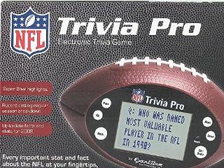 NFL Handheld Electronic Trivia Pro Game