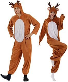 Details about  /Deer Mascot Costume Cosplay Party Game Dress Unisex Advertising Halloween Adult@