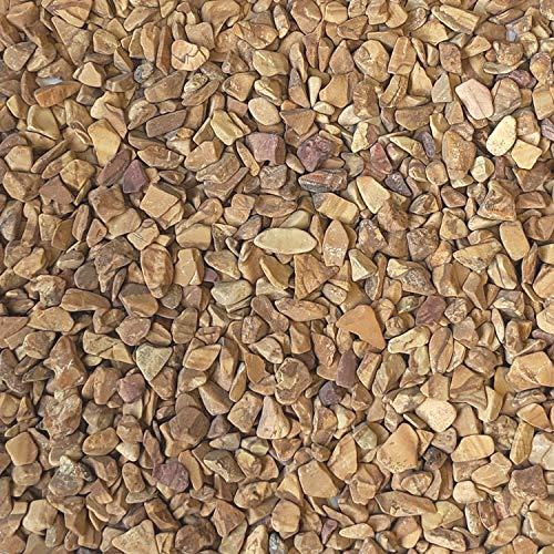 "Midwest Hearth Natural Decorative Wood Bean Pebbles 1/5"" Size (10-lb Bag)"