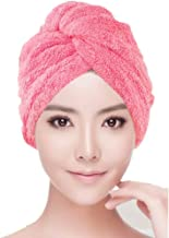 UNIQUE VATIKA Hair Wrap Microfiber Hair Wrap Magic Fast Dry Towel Drying Bath Spa Head Soft Cap Turbann Easy Wrap