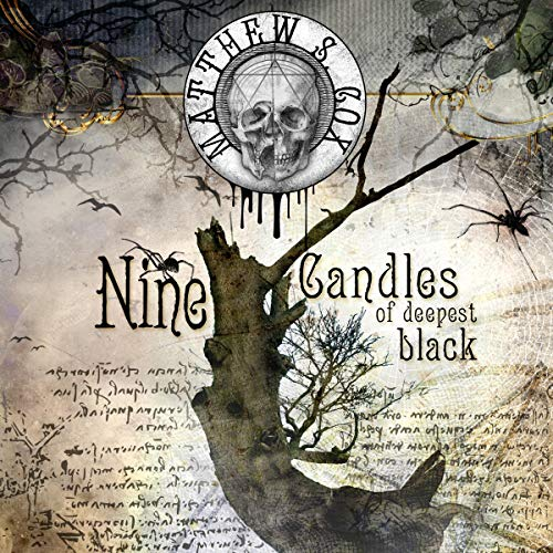 Nine Candles of Deepest Black audiobook cover art