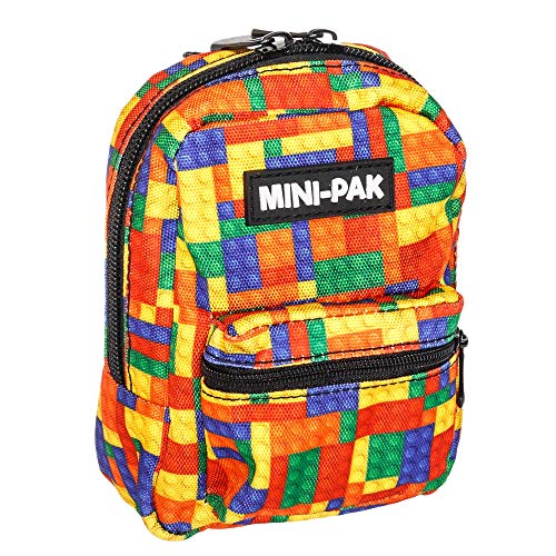 Mini-Pak Brick - Bags of Space for Your Smaller Stuff Colourful Bag Backpack Rucksack