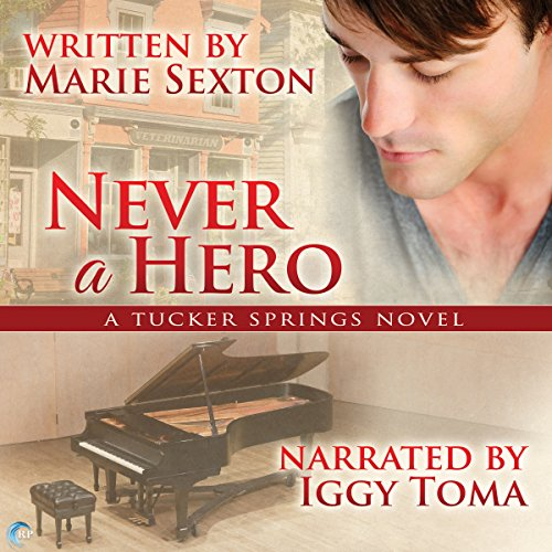 Never a Hero audiobook cover art