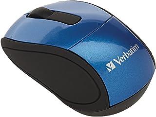 VER97471 - Verbatim Wireless Mini Travel Optical Mouse - Blue