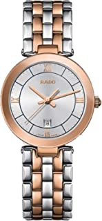 Rado Women's Silver Dial Metal Band Watch - R48873103
