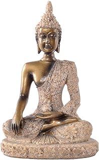 La Figurita Tonalidad De La Piedra Arenisca De Buda Joss Escultura Estatua Tallada A Mano