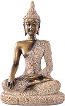 Baosity Art Sandstone Abstract Statue Sculpture Figurine Indian Buddha Collection Decor - as described, 7.5x5x11CM