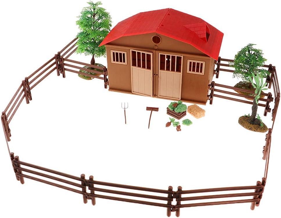 Fancyes Realistic Max 74% OFF Farm Animals Figurines Lifelike Max 62% OFF Handma