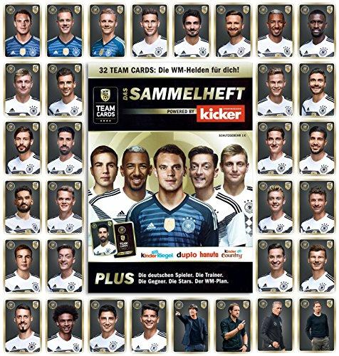 DFB Team Cards WM 2018