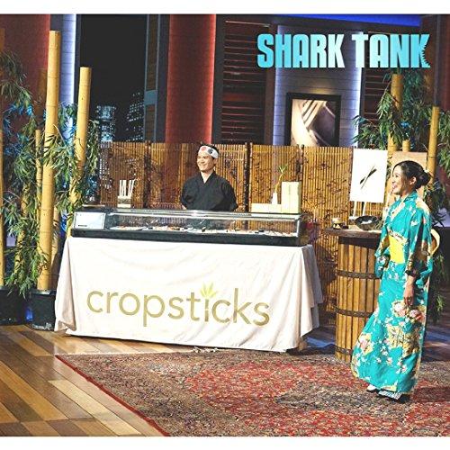 Bamboo Chopsticks From Shark Tank Cropsticks Disposable Multi Packs (100)