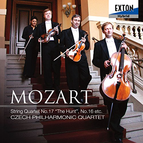 モーツァルト:弦楽四重奏曲第17番k.458「狩」、他