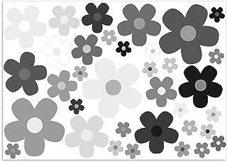 /Juego de Flores Multicolor I Coche Margaritas 243/I Flower Power Pegatinas para Roller Bicicleta port/átil Funda de Auto Adhesivo I Impermeable easydruck24de/