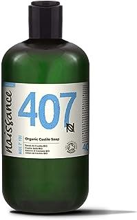Naissance Jabón natural de Castilla BIO líquido 500ml – Vegano, sin perfumes ni sulfatos.