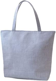 Wultia - Bags for WAMEN Fashion Cute Printing Women Canvas Bags Shoulder Bag Casual Handbag Bolsa Feminina Beige