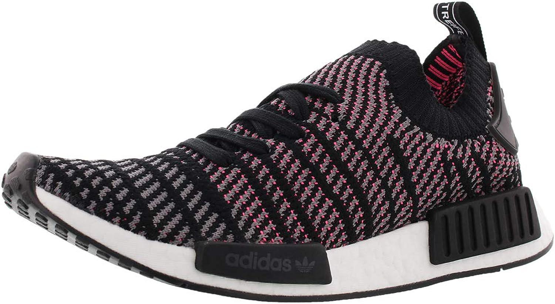 Adidas Men's NMD-R1 STLT Primeknit Originals Running shoes 12 Black