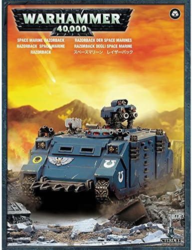 Amazon Com Games Workshop 99120101227 Space Marine Razorback Game Toys Games