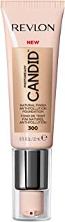 Revlon PhotoReady Candid Natural Finish Foundation, with Anti-Pollution, Antioxidant, Anti-Blue Light Ingredients, without Parabens, Pthalates and Fragrances; Dune.75 Fluid Oz
