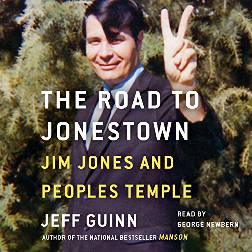 Road to Jonestown audiobook cover art