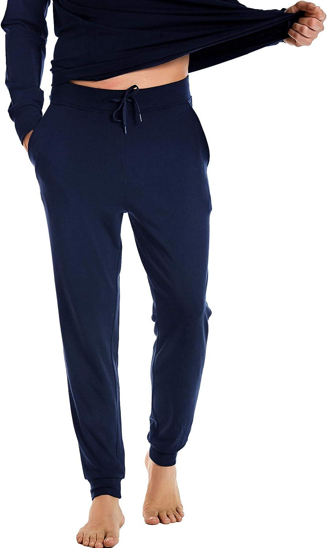 NACHILA Men's Jogger Pants Athletic Max 72% OFF Sport Running Com Choice Sweatpants