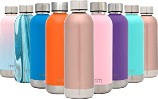 Simple Modern 25oz Bolt Sports Water Bottle - Stainless Steel - Double Wall Vacuum Insulated - Leak Proof Bottle -Rose Gold