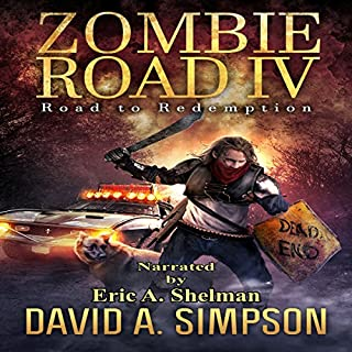 Zombie Road IV: Road to Redemption audiobook cover art