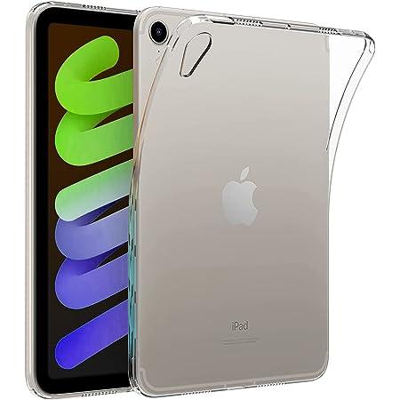 2021 iPad mini 6 ケース カバー TPU保護 ソフト シリコンケース 薄型 衝撃吸収 耐衝撃 iPad mini 6 2021年版専用ケース 対応端末:Apple iPad Mini 第6世代 8.3 Shelife