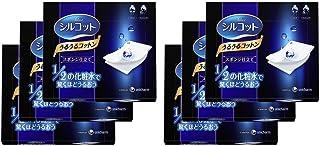 【Amazon.co.jp 限定】シルコット うるうるコットン スポンジ仕立て 40枚入×6個 リーフレット付